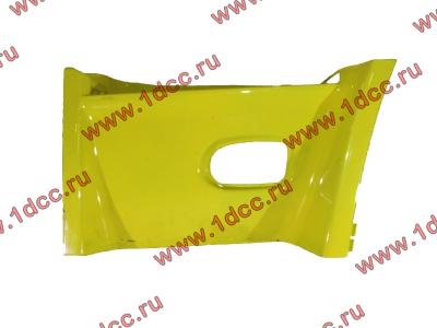 Кожух ступеньки левый пластиковый DF желтый DONG FENG (ДОНГ ФЕНГ) 8405225-C0100 для самосвала фото 1 Пятигорск
